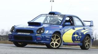 Subaru Impreza WRX Rally autóvezetés vagy autóztatás KakucsRing 10 kör
