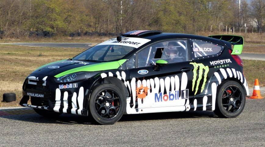 Ford Fiesta Rally autóvezetés KakucsRing 3 kör
