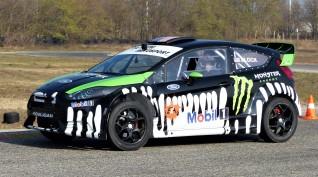Ford Fiesta Rally autóvezetés KakucsRing 3+3 kör ajándék