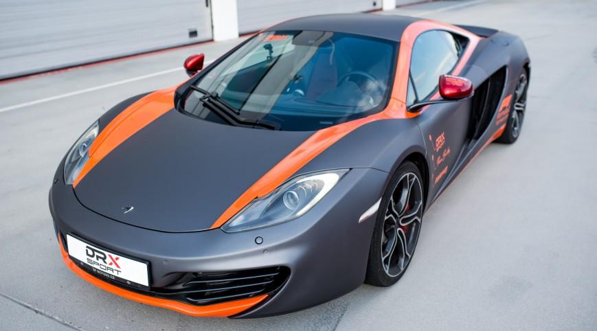 McLaren MP4-12C 625 LE élményvezetés DRX Ring 4 kör+videó
