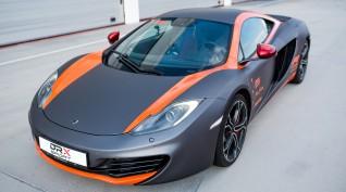 McLaren MP4-12C 625 LE autóvezetés DRX Ring 4 kör+videó