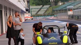 Radical Pro Sport vezetés Hungaroring 4 kör