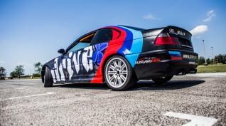BMW M3 360 LE versenyautó vezetés DRX Ring 2 kör+Ajándék Videó