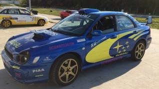 Subaru Impreza WRX Rally autóvezetés vagy autóztatás KakucsRing 4 kör
