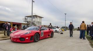 Ferrari F430 GT3 520 LE autóvezetés Hungaroring 6 kör