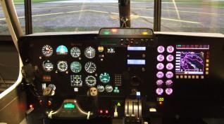 """""""Szabad repülés"""" - repülőgép szimulátor 60 perc"""