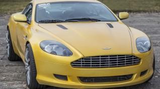 Aston Martin DB9 450 LE autóvezetés DRX Ring 4 kör