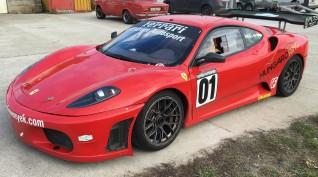Ferrari F430 GT3 520 LE autóvezetés Euroring 5 kör