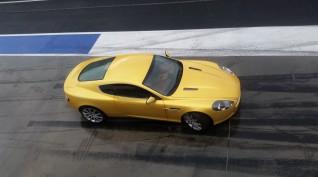 Aston Martin DB9 450 LE autóvezetés Euroring 3 kör