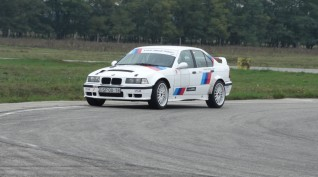 BMW E36 rally vezetés DRX Ring 6 kör+ajándék videóval