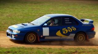 Subaru 555 Type RA versenyautó vezetés rallykrossz Pályán 9 km