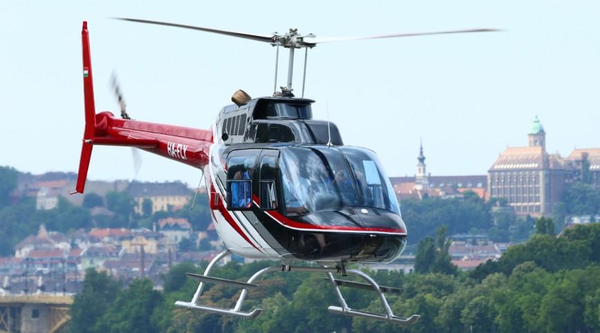 Sétarepülés Helikopterrel Budapest Felett 3 fő 20 perc