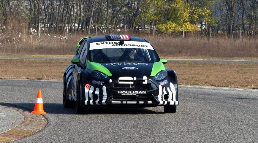 Ford Fiesta Rally autóvezetés KakucsRing 5 kör