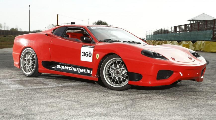 Ferrari 360 Replika autóvezetés KakucsRing 12 kör