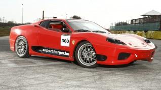 Ferrari 360 Replika Vezetés, vagy utasautóztatás KakucsRing 12 kör