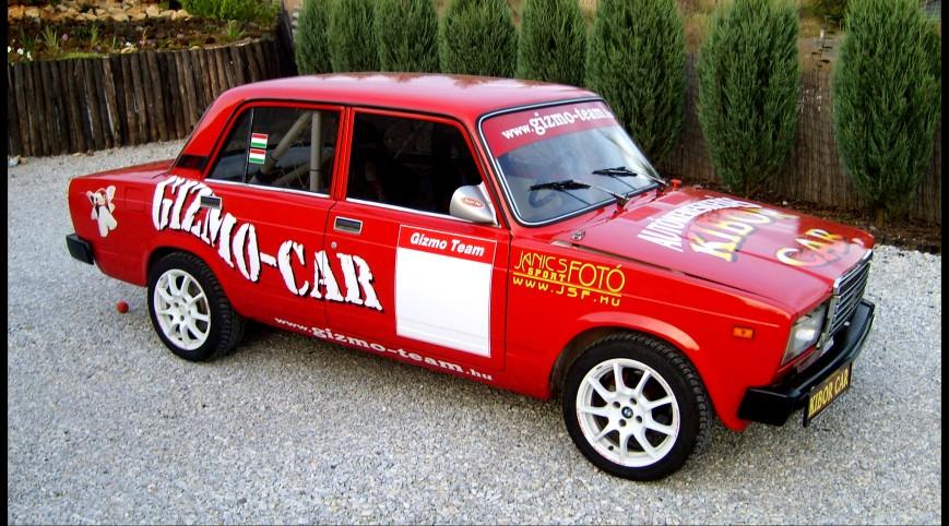 LADA 2105 Rallyautó Vezetés 10 kör