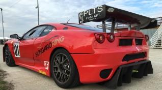 Ferrari F430 GT3 520 LE autóvezetés Hungaroring 2 kör
