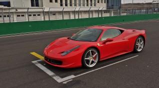 Ferrari 458 Italia autóvezetés Euroring 4 kör