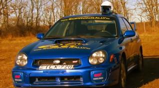 Subaru Impreza STI Versenyautó Vezetés Rallykrossz Pályán 9 km