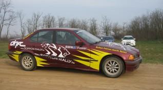 BMW E36 325i Rally Versenyautó Vezetés Rallykrossz Pályán 9 km