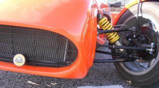 Lotus Super Seven autóvezetés Euroring 4 kör