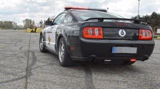 Ford Mustang GT Police vezetés KakucsRing 6 kör