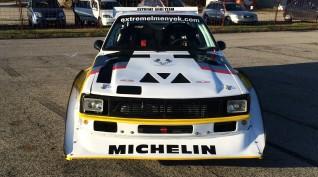 Audi S1 Rally car Proto autóvezetés vagy autóztatás KakucsRing 10 kör