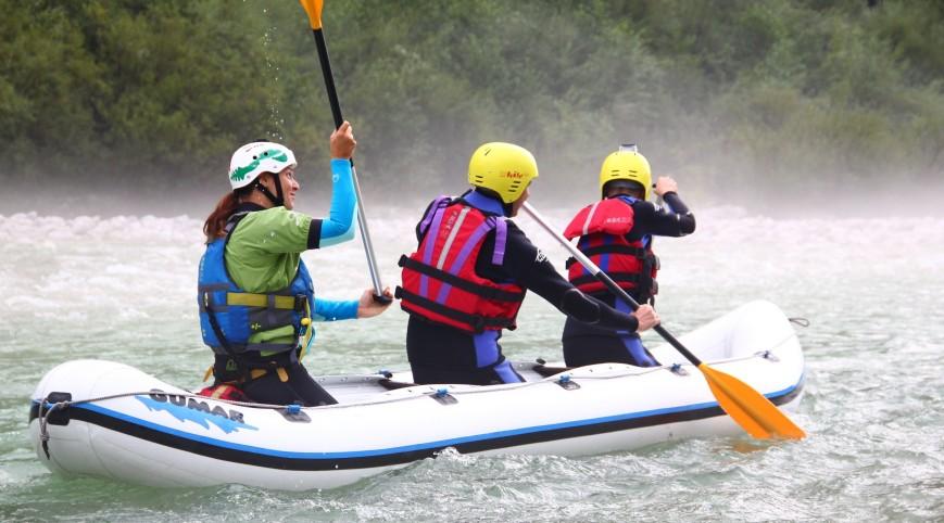 Privát rafting túra a Sočán 2 fő részére