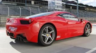Ferrari 458 Italia 570 LE autóvezetés Euroring 2 kör
