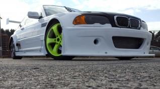 BMW E46 GTR Turbo autóvezetés KakucsRing 4 kör