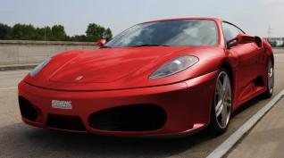 Ferrari F430 F1 490 LE autóvezetés Euroring 4 kör