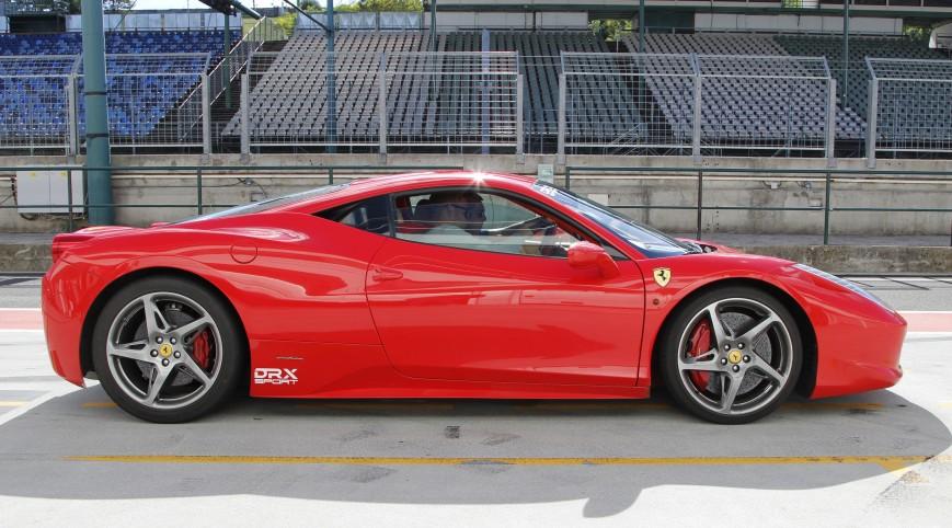 Ferrari 458 Italia 570 LE autóvezetés Euroring 4 kör