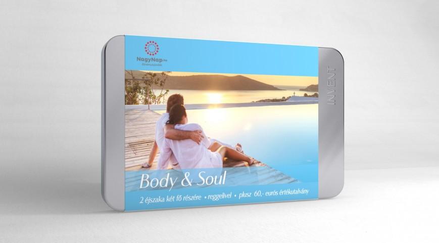 Body & Soul szállodai utalvány 3 napos pihenés 2 fő részére