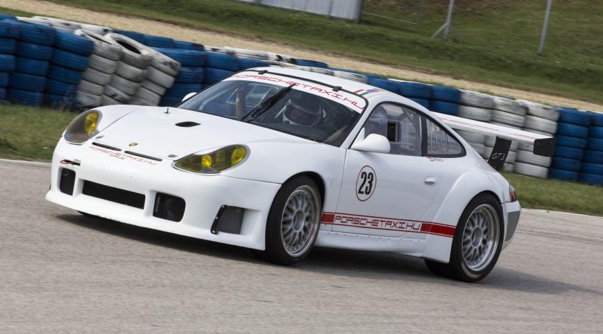 Porsche 911 GT3 RS versenyautó vezetés Euroring 8 kör