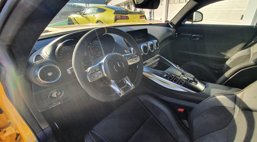 Mercedes-AMG GT C Coupé élményvezetés KakucsRing 12 kör