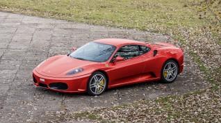 Ferrari F430 F1 490 LE autóvezetés DRX Ring 8 kör