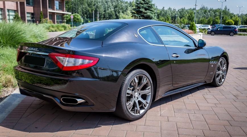 Maserati GranTourismo S 500 LE vezetés Standard kör 7-8 km