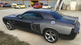 Dodge Challenger 450 LE autóvezetés Vin Diesel csomag 4+2 kör