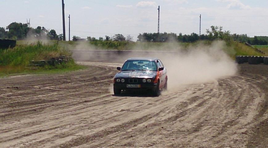 BMW E34 Rally Versenyautó Utasautóztatás 15 kör