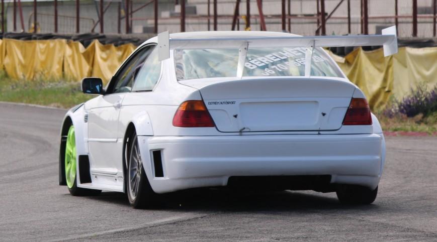BMW E46 GTR Turbo autóvezetés és utazás KakucsRing 8+2 kör