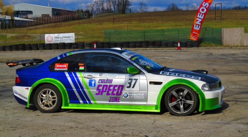 Drift taxi és drift vezetés BMW E46 AC Schnitzer Versenyautóval