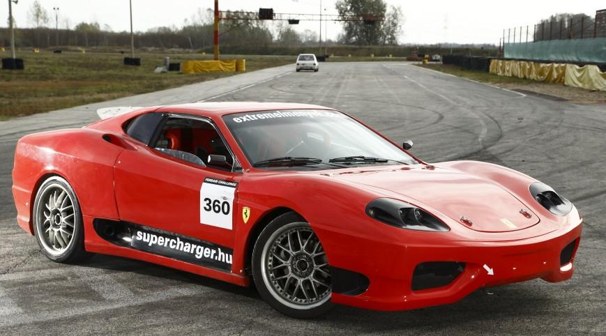 Ferrari 360 Replika Vezetés és Utasautóztatás KakucsRing 5+2 kör