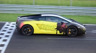 Lamborghini Gallardo autóvezetés Hungaroring 1 kör+videó