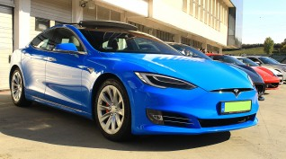 Tesla Model S P100D 772 LE vezetés KakucsRing 10 kör
