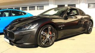 Maserati GranTurismo 520 LE vezetés Hungaroring 6 kör