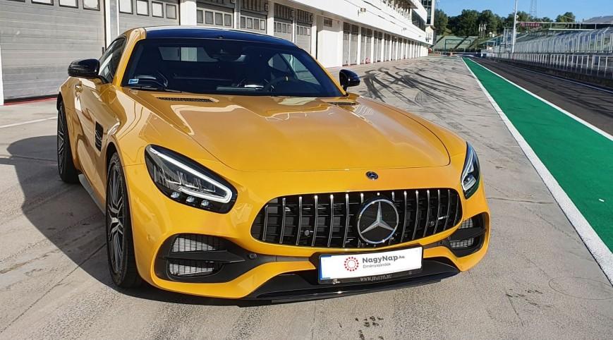 Mercedes-AMG GT C Coupé élményvezetés Hungaroring 4 kör