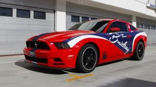 Mustang 302 Boss 480 LE autóvezetés DRX Ring 2 kör+videó