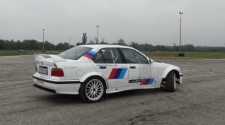 BMW E36 rally vezetés DRX Ring 2 kör+ajándék videóval