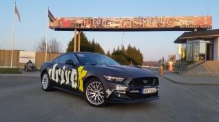 Ford Mustang 500 LE vezetés Hungaroring 2 kör/8,7 km + ajándék