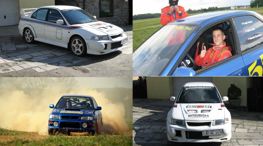 Két legenda egy csomagban Vezetés Rallykrossz Pályán 16 km